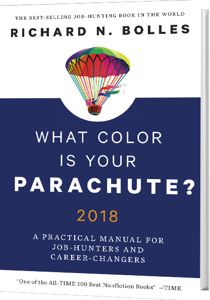 Best Book Cover All Time : What color is your parachute the best selling career